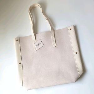 NWT Ulta vegan suede leather tote bag